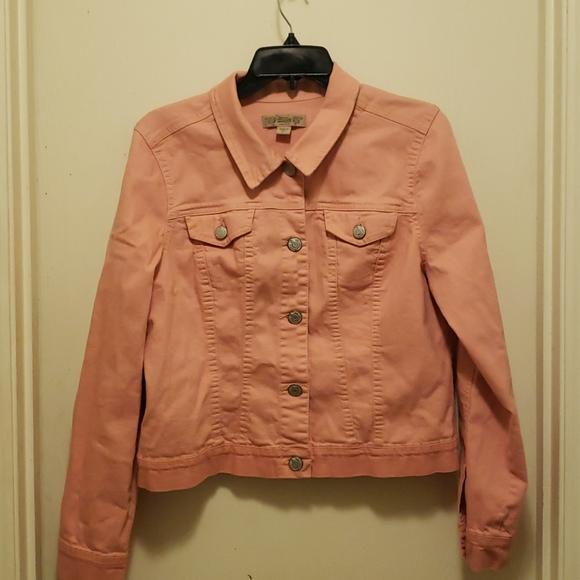 Nine West Vintage America Collection Denim Jacket